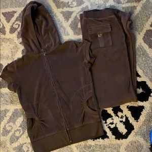Juicy Couture Terry Cloth Tracksuit Set